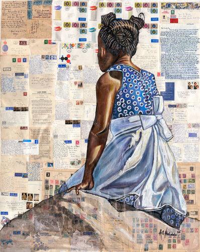 Andrew Ntshabele, 'As it is written', 2021