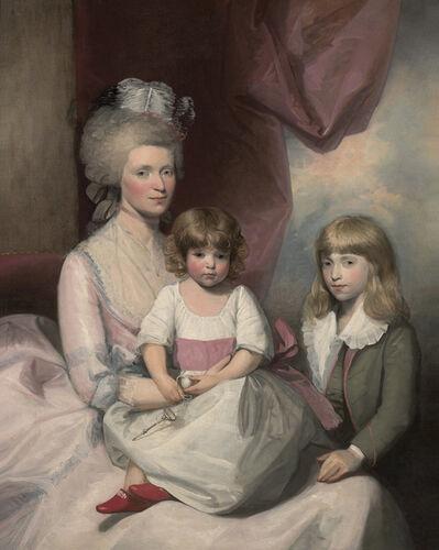 Gilbert Stuart, 'Portrait of a Family', ca. 1783-1793