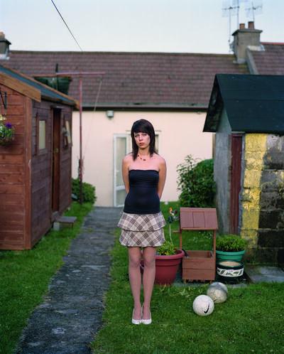 Doug DuBois, 'Eirn on the Eve of Her Eighteenth Birthday, Cobh, Ireland', 2009
