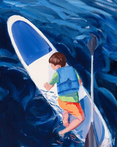 Sebastian Blanck, 'Paddle Boarding', 2018