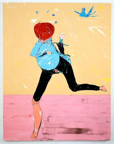 Nicola Tyson, 'Running Figure', 2008