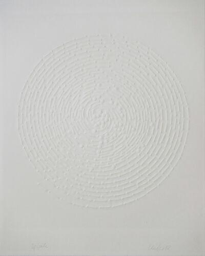 Günther Uecker, 'Spirale', 1972