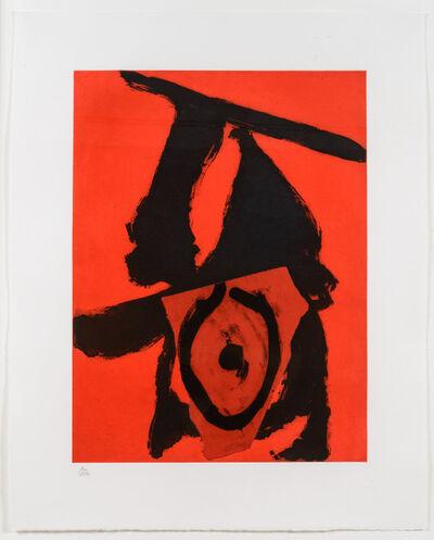 Robert Motherwell, 'Red Queen', 1989