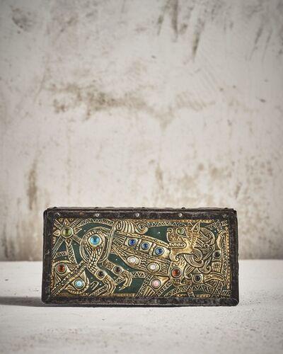 Alfred Daguet, 'Copper Repousse Box'
