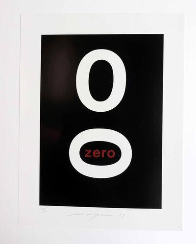 Almir Mavignier, 'Zero', 1979