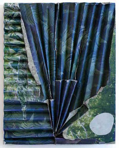 Letha Wilson, 'Hawaii Green Concrete Ripple (Rock)', 2016