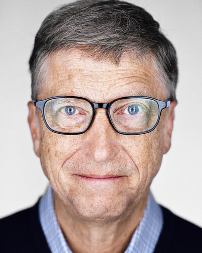 Martin Schoeller, 'Bill Gates', 2016
