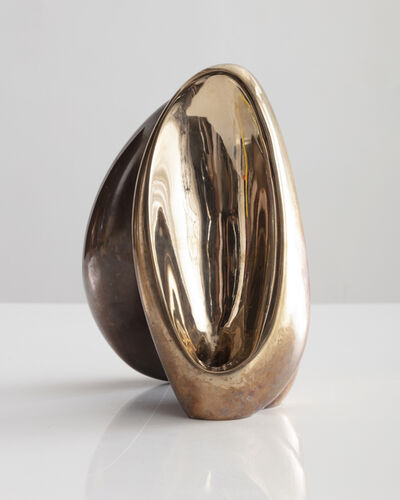 Rogan Gregory, 'Fertility Form double candle holder in cast, patinated, and polished bronze. Designed and made by Rogan Gregory, USA, 2018.', 2018
