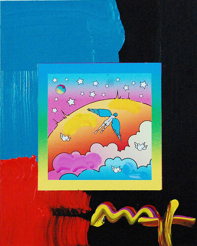 Peter Max, 'Angel Clouds on Blends (Ref. # 412)', 2007