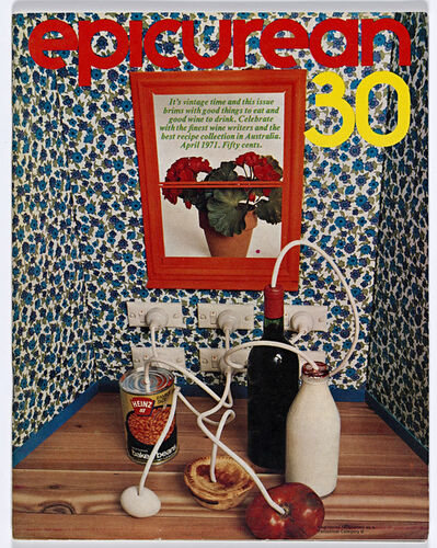 Les Mason, 'Epicurean Magazine Cover Design Number 30', 1971