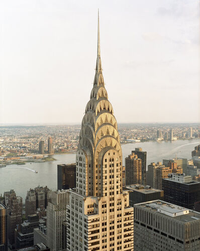 David Leventi, 'View of the Chrysler Building from the Metlife Building Helipad No.1, 405 Lexington Avenue, New York, New York', 2019