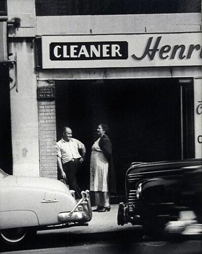 John Albok, 'NYC Street Scene (Henry Cleaners)', 1945