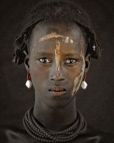 Jimmy Nelson, 'XIV 379 - Dassanech Tribe - Omorate Village, Southern Omo - Ethiopia', 2011