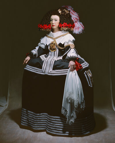 Yasumasa Morimura, 'Living in the realm of the painting (The queen)', 2013