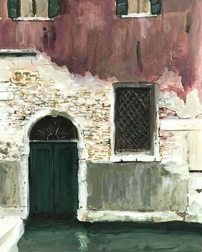 Soula Mantalvanos, 'Fondamenta Mocenigo (near San Stae), Venice', 2018