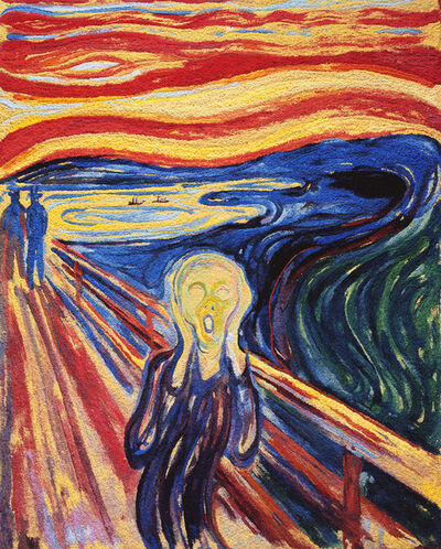 Vik Muniz, 'The Scream, after Edvard Munch (Pictures of Pigment)', 2006