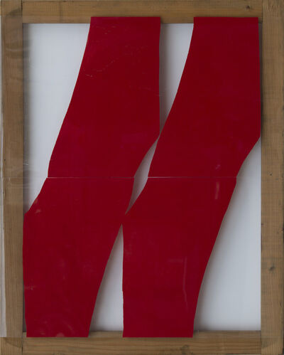 Carla Accardi, 'Rosso', 1975