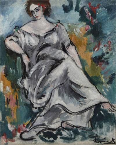 Maurice de Vlaminck, 'Femme assise au jardin', 1905-1907