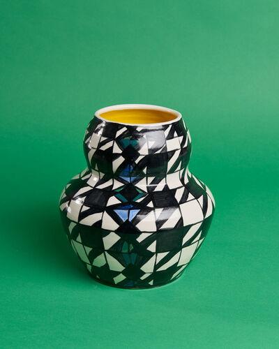 Anna Valdez, 'Houndstooth Vase', 2020