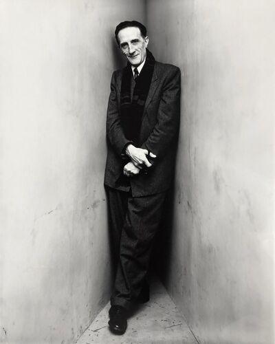 Irving Penn, 'Marcel Duchamp (2 of 2), New York', 1948