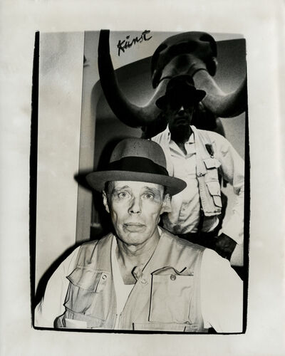Andy Warhol, 'Andy Warhol, Photograph of Joseph Beuys, 1979', 1979