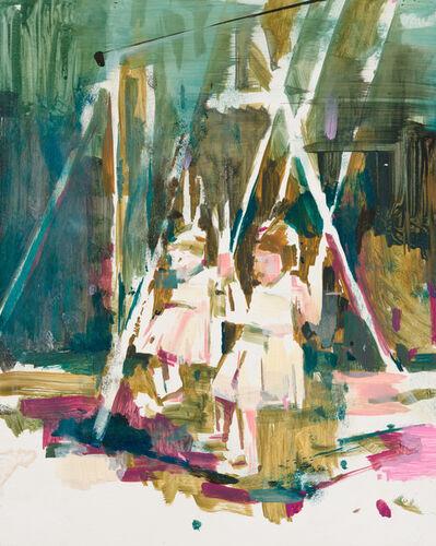 Katharine Le Hardy, 'Swing set, pink', 2021
