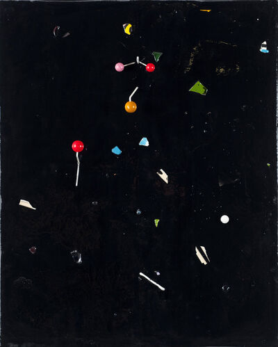 Piero Golia, 'Constellation Painting #5', 2011