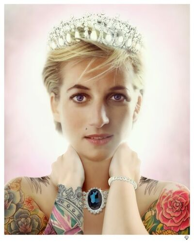 JJ Adams, 'Princess Diana', 2014