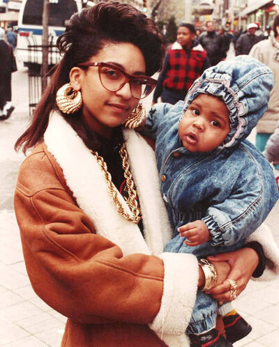 Jamel Shabazz, 'A Mother's Love, Brooklyn, NYC', 1987