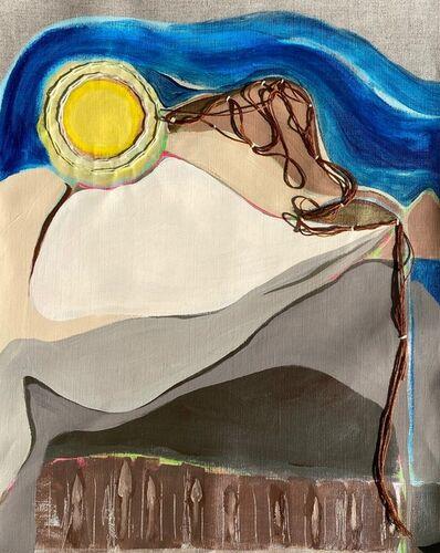 Lynda Keeler, 'Road Map #28 Joshua Tree', 2020