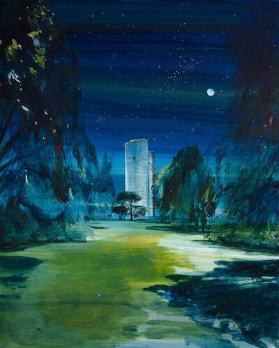 Calum McClure, 'Scaffolded Pagoda, Kew Gardens', 2019