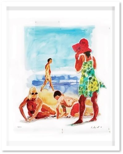 Eric Fischl, 'Two Women and a Boy', 2017