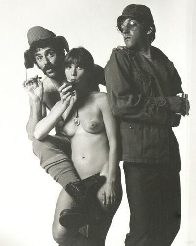 Lawrence Schiller, 'Elliott Gould, Donald Sutherland, Jo Anne Pflug', 1970