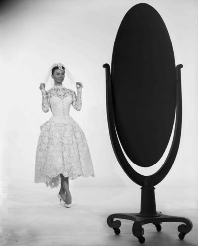 "Bud Fraker, 'Sophia Loren Posed with Mirror in ""Houseboat"", an Archival Print', 1958"