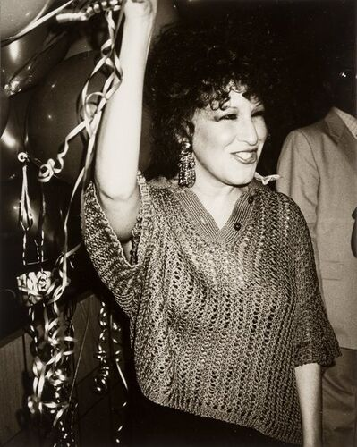 Andy Warhol, 'Bette Midler at Studio 54'