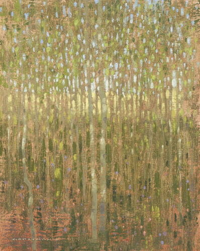 David Grossmann, 'Morning Light Inside the Aspen Grove', 2015