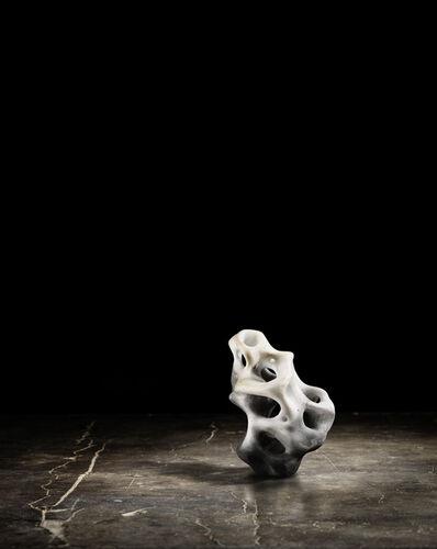 Zhao Meng 趙夢, 'Clay Lingbi Stone in Palm #2', 2015