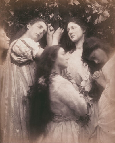 "Julia Margaret Cameron, 'Mary Hiller and Four Other Women (""Have we not heard the Bridegroom is so sweet!"")', 1870"