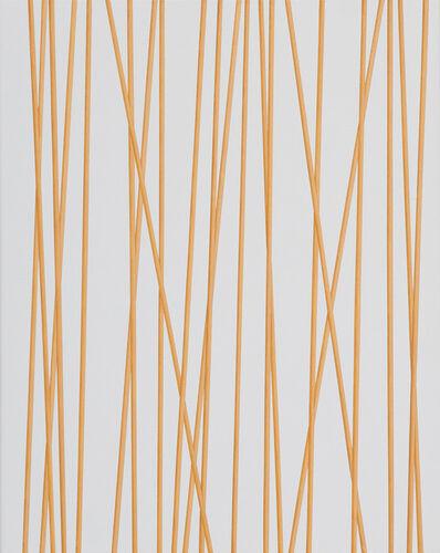 Valdirlei Dias Nunes, 'Sem Título (barras douradas longitudinais I) [Untitled (longitudinal golden bars I)]', 2010