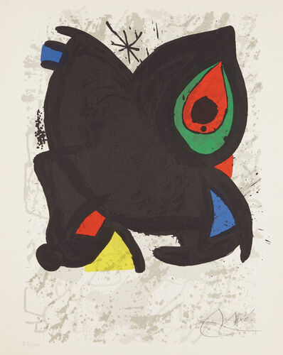 Joan Miró, 'Joan Miró, Grand Palais, Paris', 1974