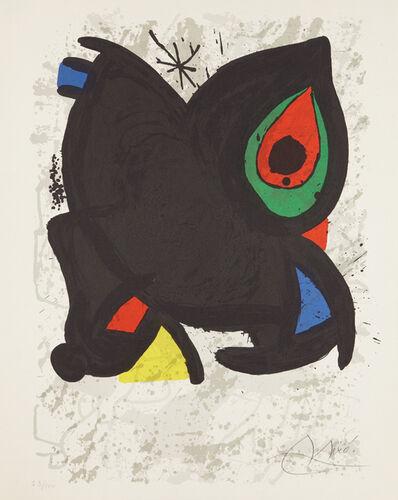 Joan Miró, 'Joan Miró, Grand Palais, Paris', 1974