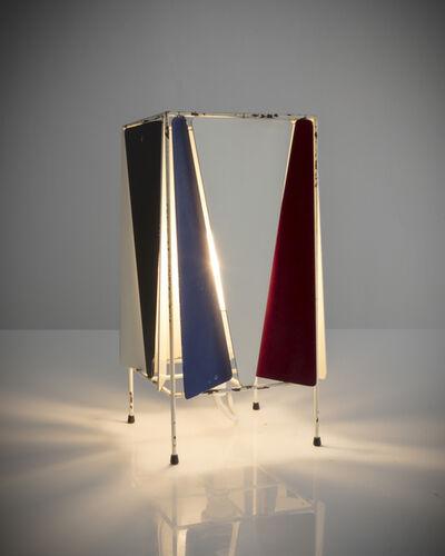 Greta Magnusson Grossman, 'Bergboms B-4 desk lamp in enameled metal', 1945