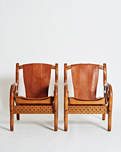 Don Shoemaker, 'Pair of Rare Armchairs', ca. 1970
