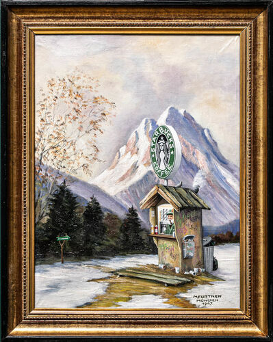 André Schulze, 'Starbucks Café', 2020