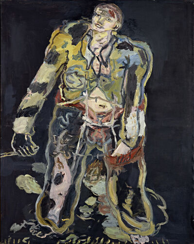 Georg Baselitz, 'Rebel', 1965
