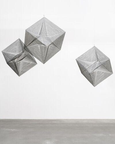 Lydia Okumura, 'Cube 1,2,3', 1984