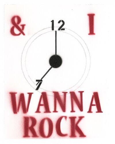 Bernie Taupin, 'I Wanna Rock', 2019