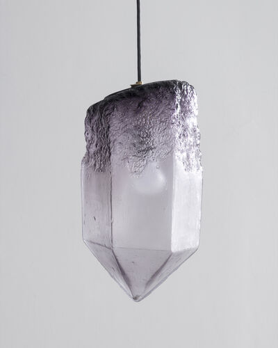 Jeff Zimmerman, 'Crystal Illuminated Sculptural Pendant', 2016