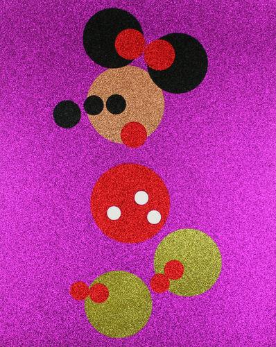 Damien Hirst, 'Glitter Minnie (Small)', 2016