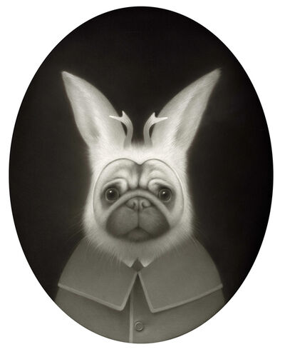 Travis Louie, 'Max in Jackalope Disguise'
